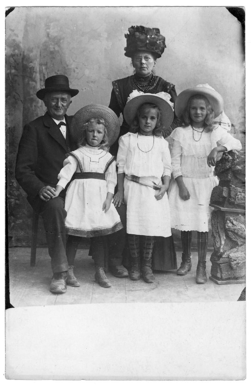 Familie Rietma rond 1900