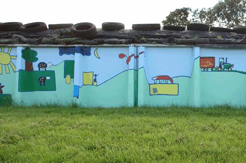 de verbindende muur